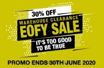 warehouse eofy clearance sale