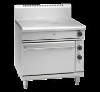 waldorf 800 series rn8110ge - 900mm gas target top electric static oven range