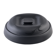 "aladdin temp-rite alrd120 - 9"" / 230mm radiance insulated dome - black"