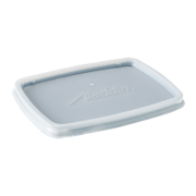 aladdin temp-rite b80a - disposable rectangular bowl lid - clear