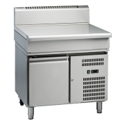 waldorf 800 series bt8900-rb - 900mm bench top  refrigerated base