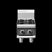 cobra c3d-b 305mm two burner gas cooktop - bench model