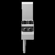 cobra c3d-w 305mm two burner / wok end gas cooktop