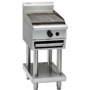 waldorf 800 series ch8450g-ls - 450mm gas chargrill - leg stand
