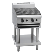 waldorf 800 series ch8600g-b - 600mm gas chargrill  bench model