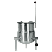crown static jacketed kettles