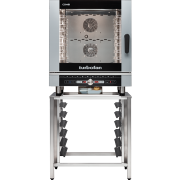 turbofan ec40d7 - full size 7 tray digital / electric combi oven cooking