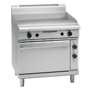 waldorf 800 series gp8910e - 900mm electric griddle static oven range
