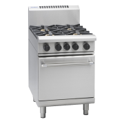 waldorf 800 series rnl8413g - 600mm gas range static oven low back version