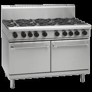 waldorf 800 series rn8820g - 1200mm gas range static oven