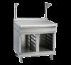 waldorf 800 series btl8900s-cb - 900mm bench top with salamander support low back version  cabinet base