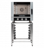 turbofan ec40m5 - full size 5 tray manual / electric combi oven cooking