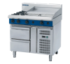 blue seal evolution series g516b-rb cooktops