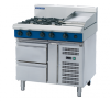 blue seal evolution series g516c-rb cooktops