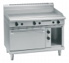 waldorf 800 series gpl8121ge - 1200mm gas griddle electric static oven range low back version