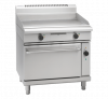 waldorf 800 series gpl8910ec - 900mm electric griddle convection oven range low back version