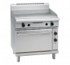 waldorf 800 series gpl8910e - 900mm electric griddle static oven range low back version