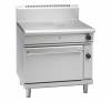 waldorf 800 series rnl8110gec - 900mm gas target top electric convection oven range