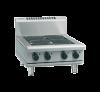 waldorf 800 series rnl8406e-b - 600mm electric cooktop low back version  bench model