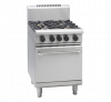 waldorf 800 series rnl8416g - 600mm gas range static oven low back version