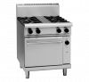 waldorf 800 series rnl8510gc - 750mm gas range convection oven low back version