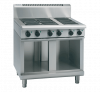 waldorf 800 series rnl8606e-cb - 900mm electric cooktop low back version  cabinet base