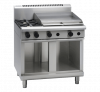 waldorf 800 series rnl8606g-cb - 900mm gas cooktop low back version  cabinet base