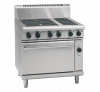 waldorf 800 series rnl8610ec - 900mm electric range convection oven low back version
