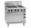 waldorf 800 series rnl8610e - 900mm electric range static oven low back version