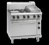 waldorf 800 series rn8613ge - 900mm gas range electric static oven