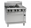waldorf 800 series rnl8613g - 900mm gas range static oven low back version