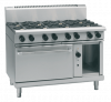 waldorf 800 series rnl8816gc - 1200mm gas range convection oven low back version