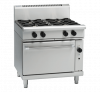 waldorf 800 series rn8910gc - 900mm gas range convection oven